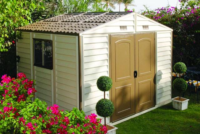 Avis sur les abris de jardin en pvc r sine for Abri de jardin naterial